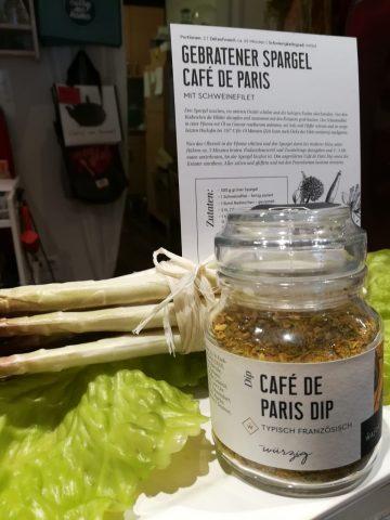Wajos Café de Paris Dip Rezept Gebratener Spargel Café de Paris